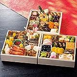 北海道 北のシェフ 和風&海鮮 おせち料理 2017 三段重 盛り付け済み 冷蔵おせち お届け日:12月31日