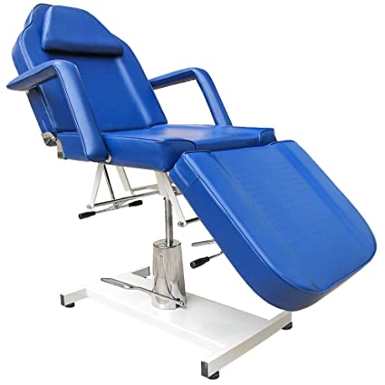 Blue dentale sedia sala relax sedia lettino di trattamento di terapia di massaggio tabella tabella terapia divano Salon Chair NEW BLUE