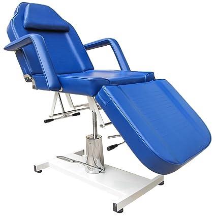 Blue dentale sedia sala relax sedia lettino di trattamento di terapia di massaggio tabella tabella terapia divano Salon Chair NEW BLUE
