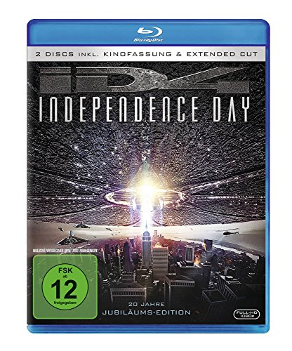Independence Day - Extended Cut [Blu-ray]