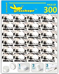Grasshopr - Magic Tablet Napkin Compressed Coin Tissue - Pack of 300 Pieces (Candy Packaging)