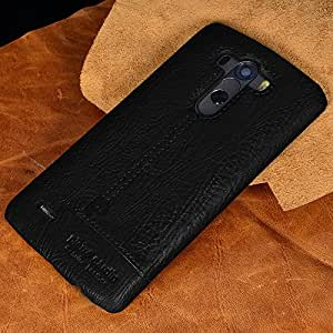 appsTM Genuine Pierre Cardin Luxury Leather Back Case Cover for LG G4 - Black