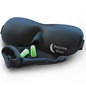 Bedtime Bliss<sup>®</sup> Contoured Sleep Mask and Moldex<sup>®</sup> Ear Plugs width=