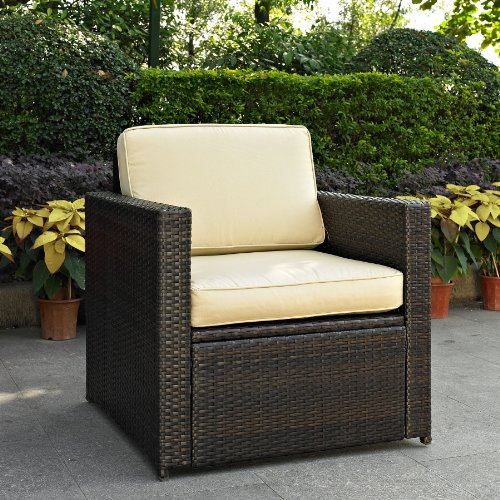 Crosley Furniture Palm Harbor Outdoor Wicker Chair Patio