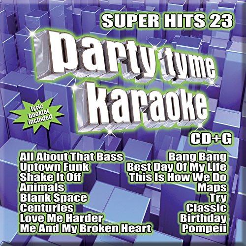 party tyme karaoke super hits 23 16 song cd g