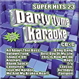 Party Tyme Karaoke - Super Hits 23 [16-song CD+G]