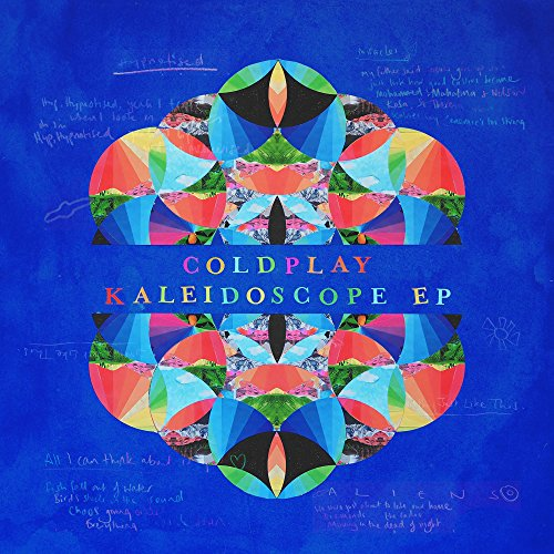 Vinilo : Coldplay - Kaleidoscope (Colored Vinyl, 180 Gram Vinyl, Light Blue, Poster, Digital Download Card)
