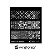 Winstonia Nail Art Stamping Image Plate Moroccan Mosaic
