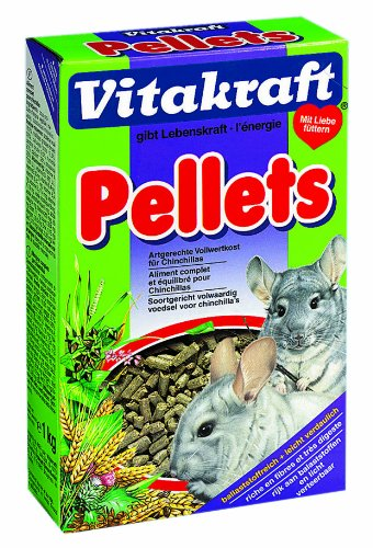VITAKRAFT Pellets für Chinchillas - 1kg