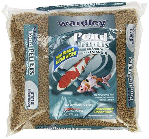 Hartz Wardley Pond Pellets, 5-Pound (Fish Pellets compare prices)