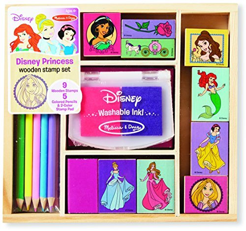 Disney Princess Wooden Stamp Set JungleDealsBlog.com
