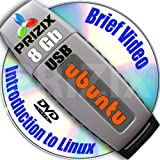 Ubuntu 14.04 on 8gb USB Stick Flash Drive and Complete 3-discs DVD Installation and Reference Set, 32 and 64-bit