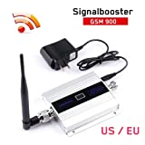 Gereton Cell Phone Mobile Signal Repeater Booster Amplifier Antenna Mobile Unicom Mobile Phone Signal Amplifier GSM 900MHz Mobile Phone Signal Amplifier (Color: US)