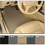 Intro-Tech Berber Front Custom Fit Floor Mat - (Charcoal), Pack of 2