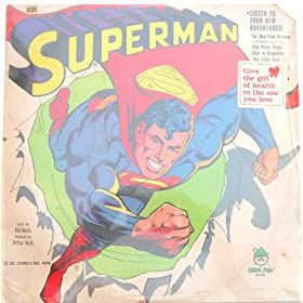 Superman Story - Vinyl Record 1978