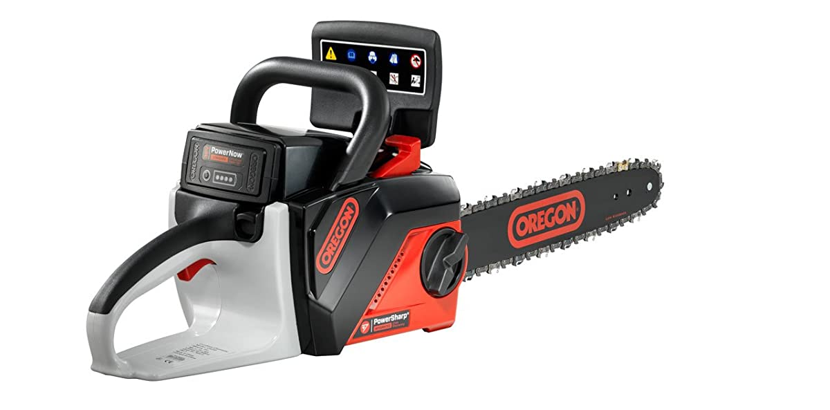 OREGON CORDLESS 40 Volt MAX CS250-E6 Saw Kit with 2.4 Ah Battery pack