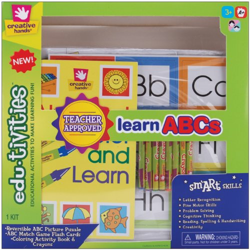 Fiber Craft Edu-Tivities Learning Kit, ABC's