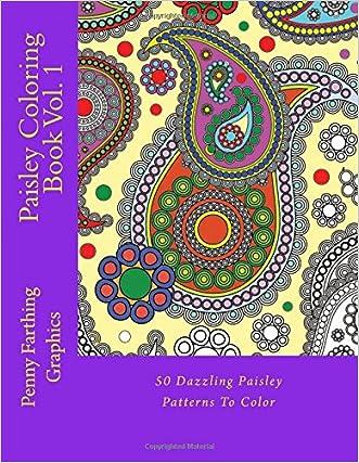 Paisley Coloring Book Vol. 1