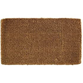 Earth Friendly 18 by 30-Inch Coco Coir Doormat