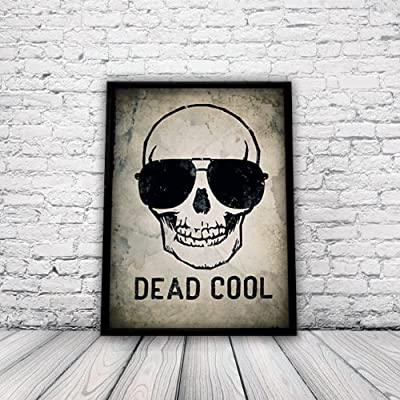 Skull Poster, Day of the Dead Poster, Cool Poster, Wall Art, Home Decor, Skulls, Sugar Skull, Art Print, A3 Poster, Unframed by You Mother Punker