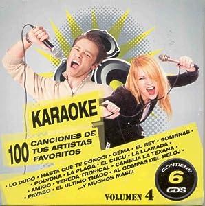 Karaoke 100 Canciones De Tus Artistas Favoritos Vol 4