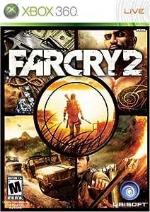 Far Cry 2 (Fr/Eng manual) - Xbox 360