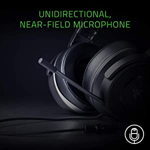 Razer Thresher Tournament Edition: Retractable Boom Mic - 3.5 mm Audio Connection - Lightweight Leatherette Ear Cushions - Gaming Headset Works with PC, PS4, Xbox One, Switch, & Mobile Devices (Color: Headset, Tamaño: Wired)