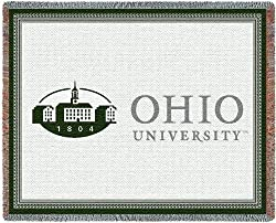 Ohio Univ Logo - 69 x 48 Blanket/Throw - Ohio Bobcats
