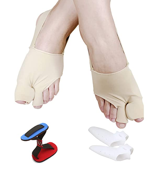 Bunion Corrector-Bunion Relief Protector Brace Kit for Big Toes-Treat Pain in Hallux Valgus, Big Toe Joint, Hammer Toe, Toe Separators Spacers Straigh