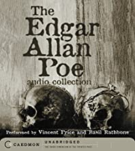 The Edgar Allan Poe Audio Collection Audiobook by Edgar Allan Poe Narrated by Vincent Price, Basil Rathbone
