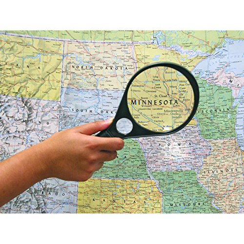 HF tools Jumbo Magnifying Glass, One Color, X-Large