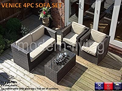 4pc Rattan Sofa Set OGD016