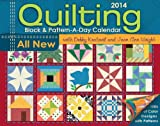 Quilting Block & Pattern-a-Day 2014 Calendar