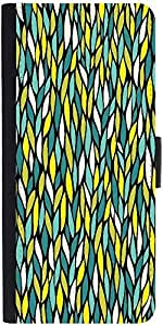Snoogg a seamless leaf pattern Designer Protective Flip Case Cover For Apple Iphone 6s