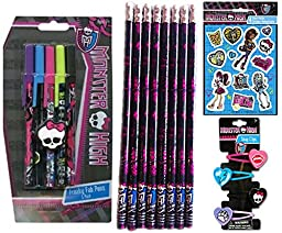 Monster High Back to School Gift Set (29 Pieces)