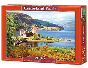 Castorland Eilean Donan Castle Scotland Jigsaw (2000-Piece)