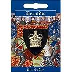 Crown Gilt Pin Badge