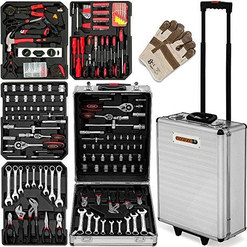 629-tlg-Werkzeugkoffer-Alu-Rollkoffer-inkl-hochwertige-Arbeitshandschuhe