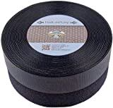 "Velcro Nylon Sew On Hook and Loop Tape, 10 yds Length x 2"" Width, Black"