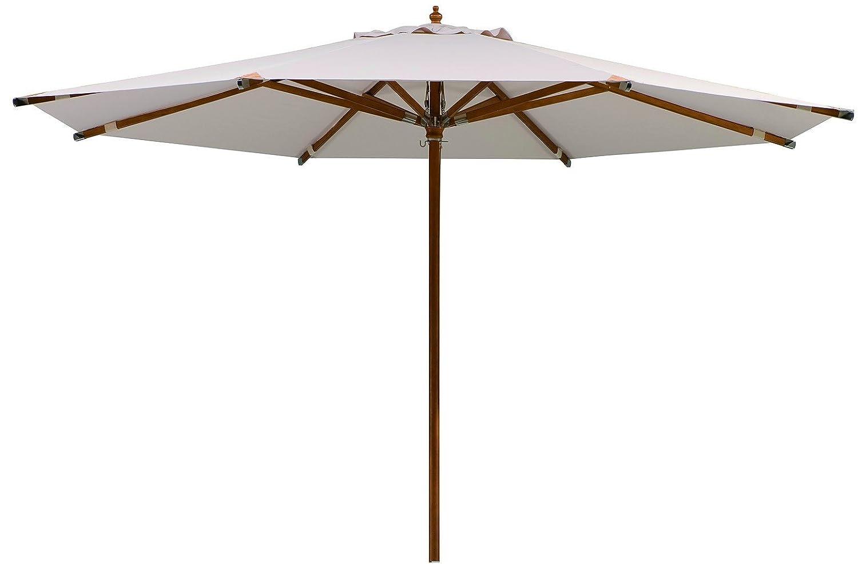 Schneider Sonnenschirm Nizza, natur, ca. 350 cm Ø, 8-teilig, rund günstig kaufen