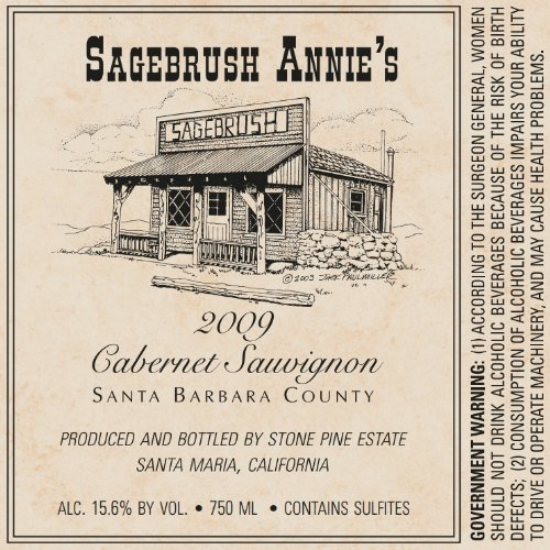 2009 Sagebrush Annie'S Santa Barbara County Cabernet Sauvignon 750 Ml