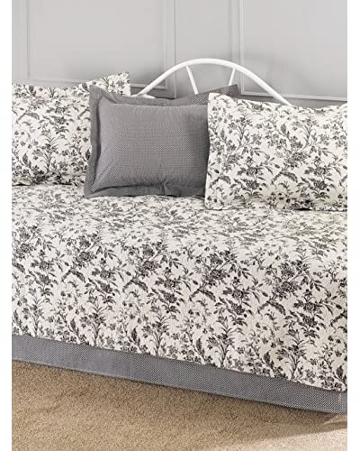 Laura Ashley Amberley Daybed Set, Black