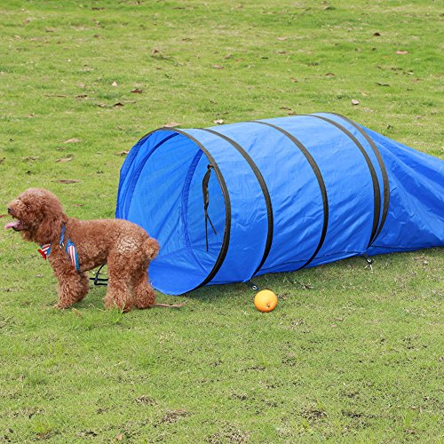 15-pet-dog-training-agility-tunnel-puppy-obedience-tube-dark-blue