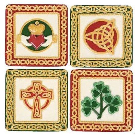 St Patricks Irish Treasures Ceramic Mini Plates