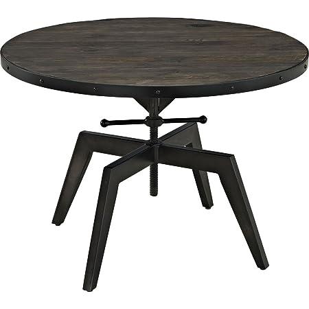 Clutch Wood Top Coffee Table in Black RTM252857