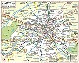 echange, troc Plans Indispensable - Plan de ville : Métro Rer (plan plastifié)