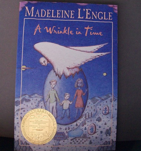 a review of madeleine lengles well in a wrinkle in time The cover of madeleine l'engle's a wrinkle in time brings back strange memories for me i remember being forced to read it in grade school, probably back around the same time that i read the chronicles of narnia series (which makes sense because i went to a catholic school and the book.