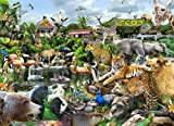 What A Zoo! 300 pc Jigsaw Puzzle by White Mountain