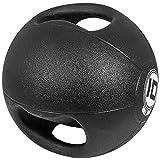 Medizinball mit Griffen Gymnastikball Fitnessball...