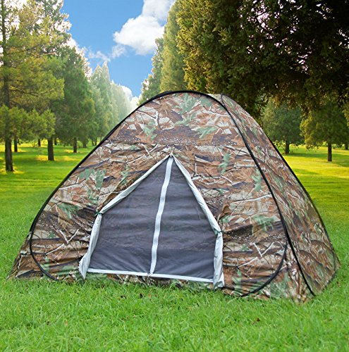 Gazelle Outdoors Camping Hunting Large Dome Instant Pop Up